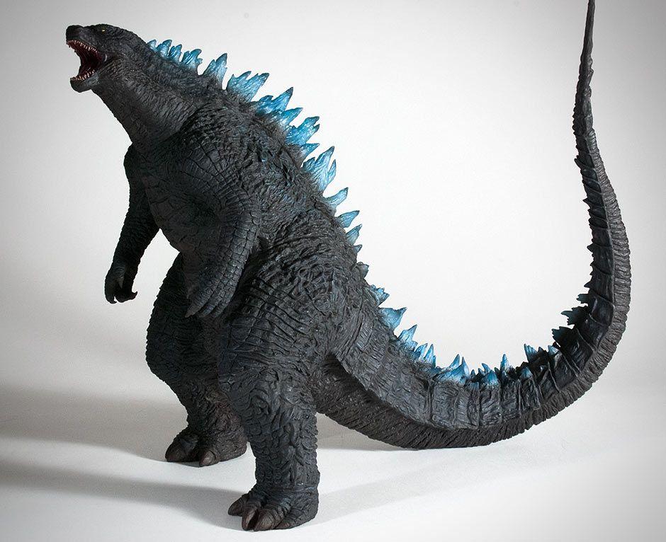 Toho 30cm Series Godzilla 2014 Roaring Pose Vinyl Figure By X Plus Godzilla Figures Godzilla Vinyl Figures