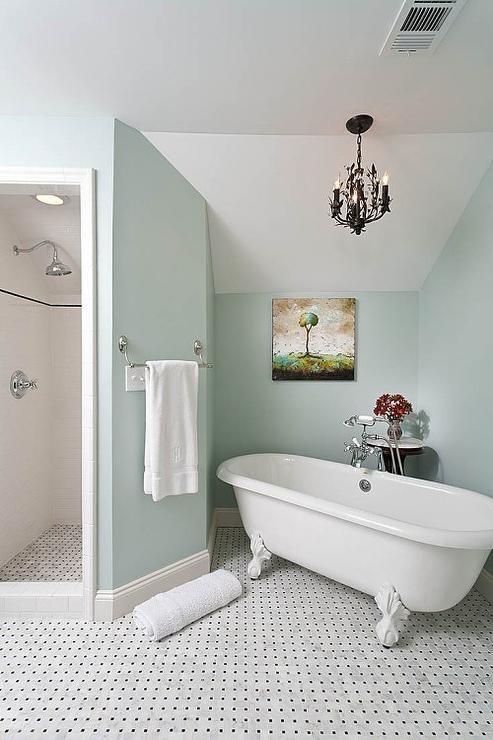 Delicieux Chandelier Over Bathtub | Chandelier Over Tub  French   Bathroom   Renewal  Design Build