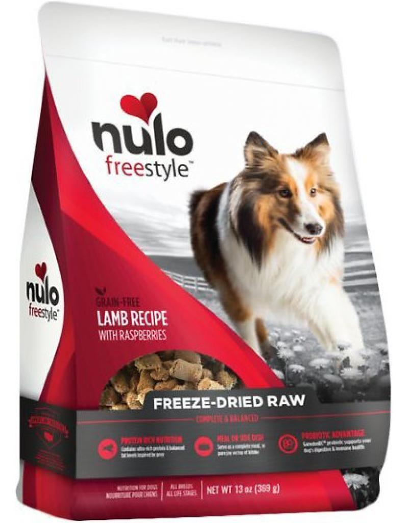 Nulo Grain Free Freeze Dried Raw Lamb 13 Oz Dog Food Grain