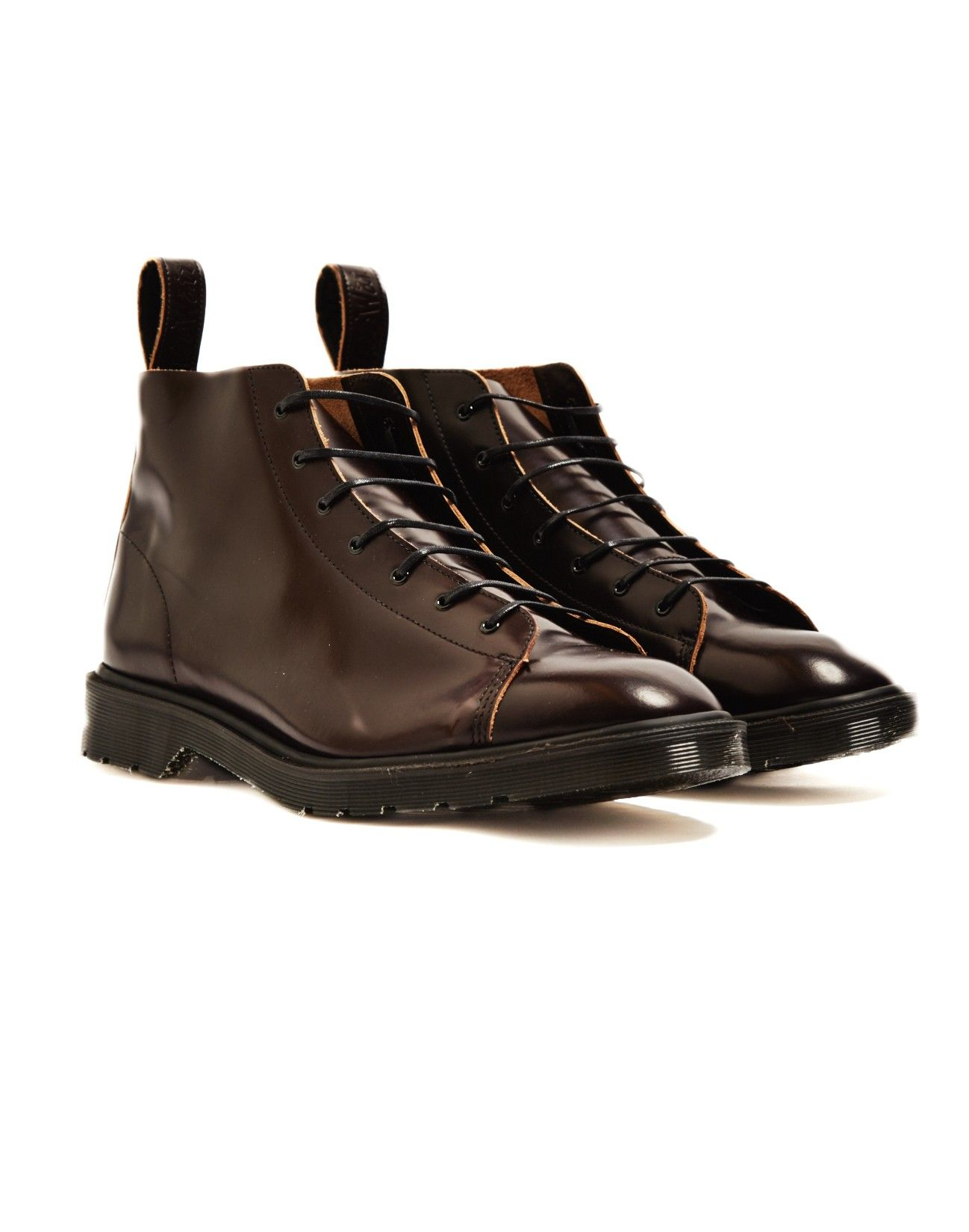 Dr Martens Made in England Classic Monkey Boot Red