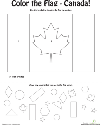 Canadian Flag Coloring Page Flag Coloring Pages Canadian Flag