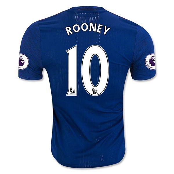 Manchester United Jersey 2016/17 Away Soccer Shirt #10 ROONEY