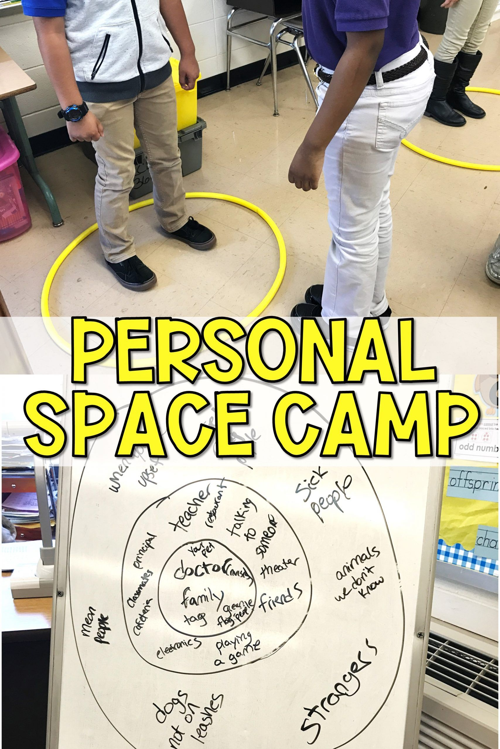 Personal Space Camp Lesson In