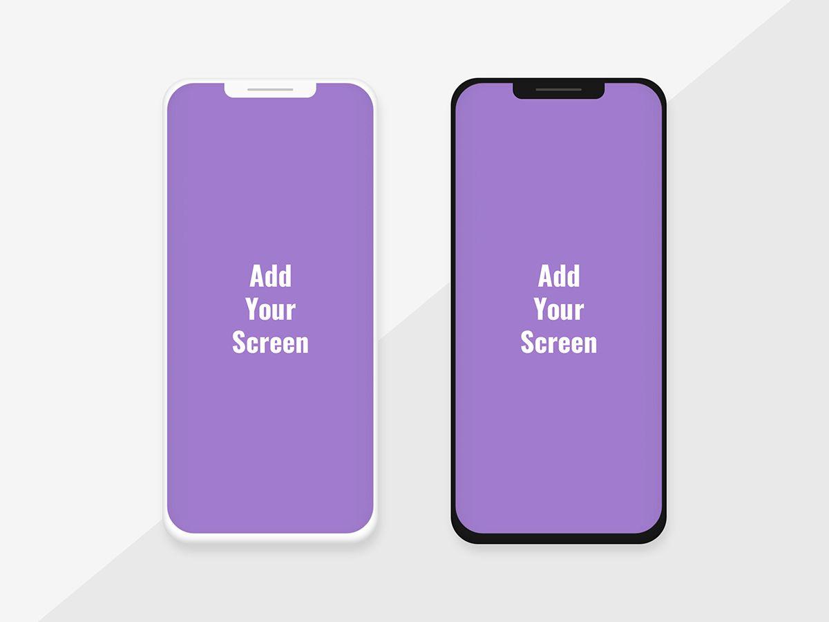 Dual Screen Smartphone Psd Mockup Template Psd Mockup Template Mockup Template Mockup
