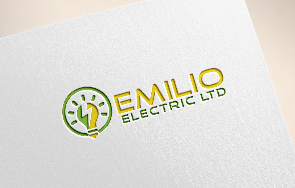Logo For Electrical Company Serious Modern Logo Design By Axe Design Business Card Design Inspiration Logo Design Modern Logo Design