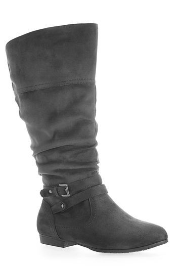 FREMONT WW SUEDE WRP BELT, Grey | Boots, Buckle boots ...