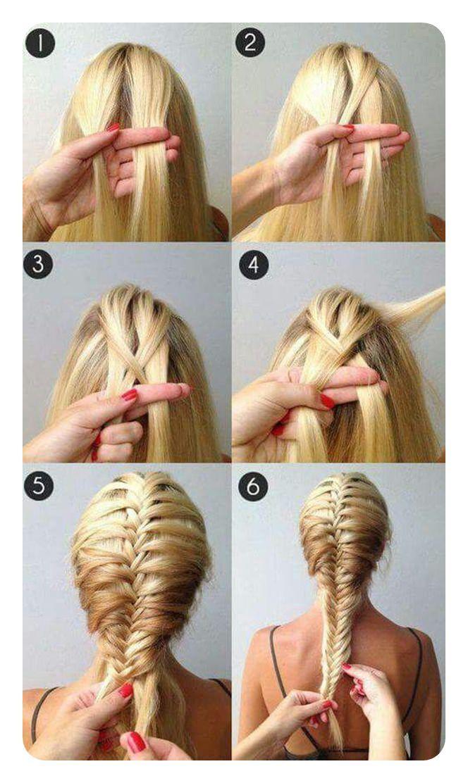104 Einfache Fishtail Braid Ideen und ihre Schritt für Schritt Anleitung — Alles für die besten Frisuren
