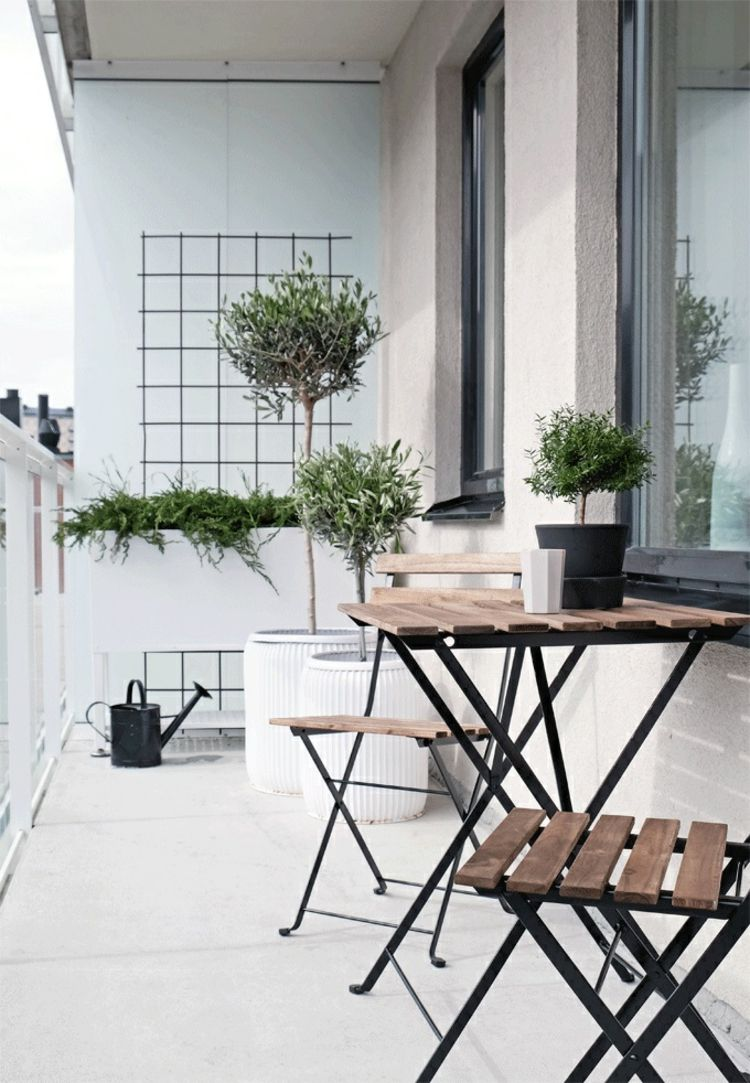 platzsparende Klappmöbel für den kleinen Balkon | Balkon - Ideen ...