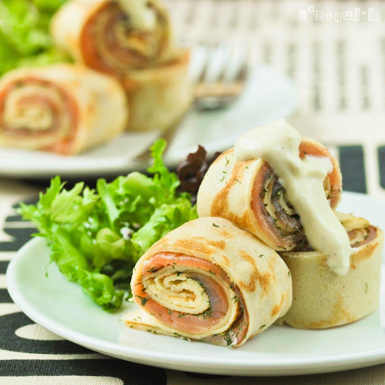 Recetas De Cocina Para El Verano Faciles | Las Crepes Saladas Son Una Comida Muy Versatil Hay Infinitas