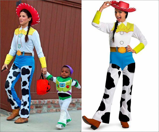 5202e2cd321ed Sandra Bullock disfraz Jessie Toy Story y