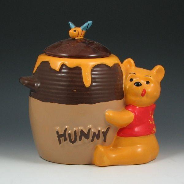 Winnie the pooh hunny pot cookie jar