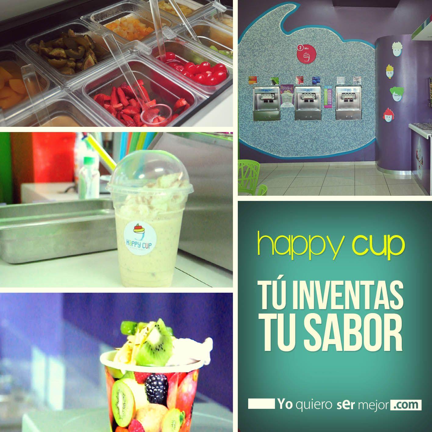 Happy Cup #IceCream #FrozenYogurt #Helado #QueHacerEnElSalvador #FinDeSemana #EstilosDeVida