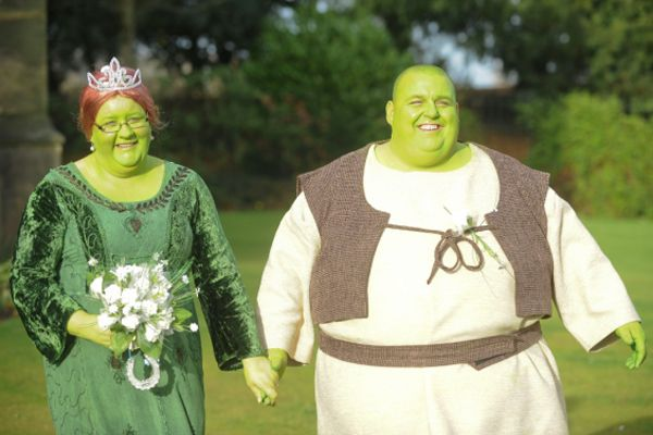 A Shrek-Themed Wedding  8 of the Most Bizarre Weddings in the
