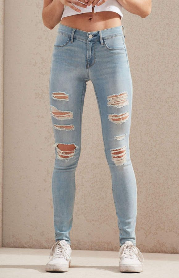 f1f01c2373100 Mae Blue Perfect Fit Jeggings | Products | Perfect fit, Jeggings, Pacsun
