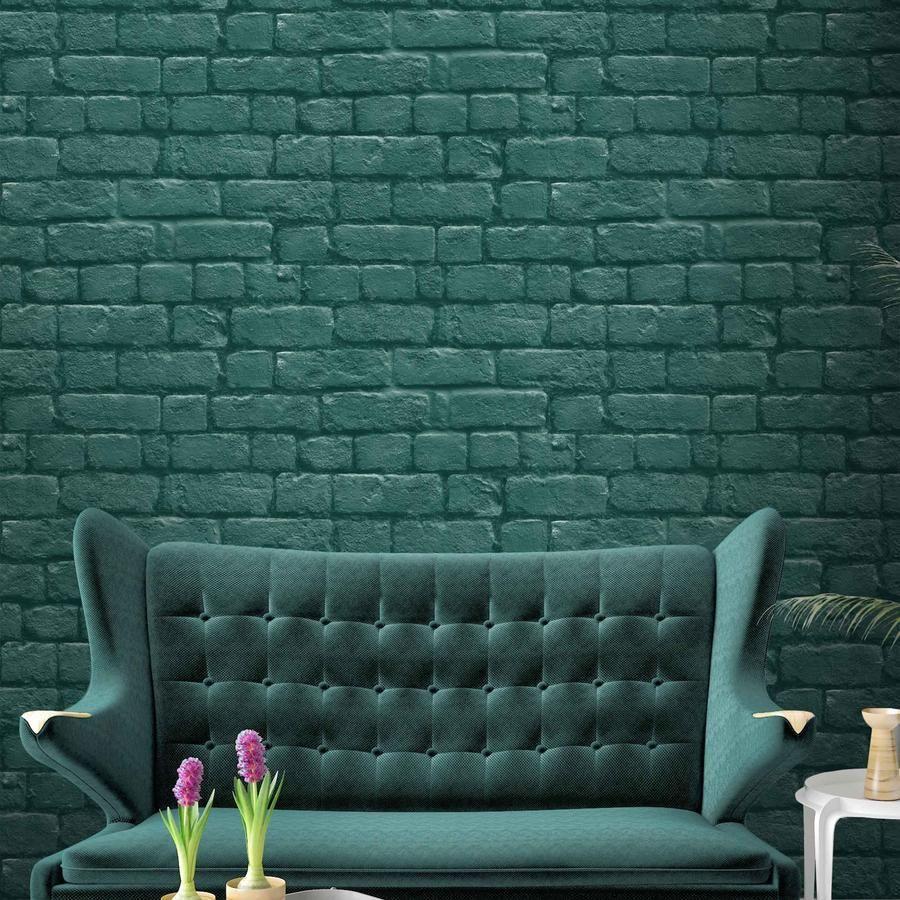 Brick effect emerald green in 2020 Brick effect