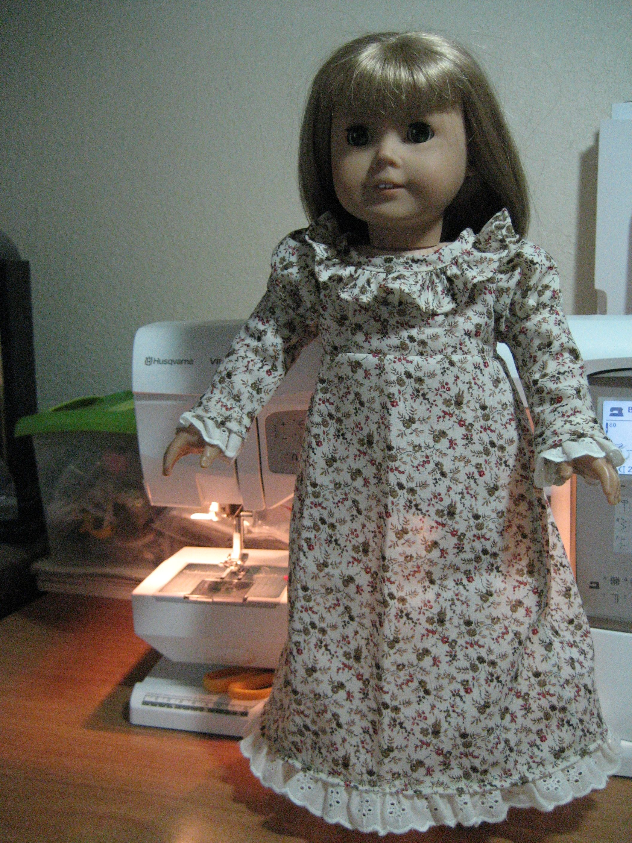Josephina dress pattern from American Girl