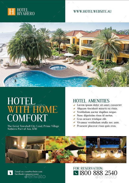 Hotel Promotional Flyer #Hotel, #Promotional, #Flyer