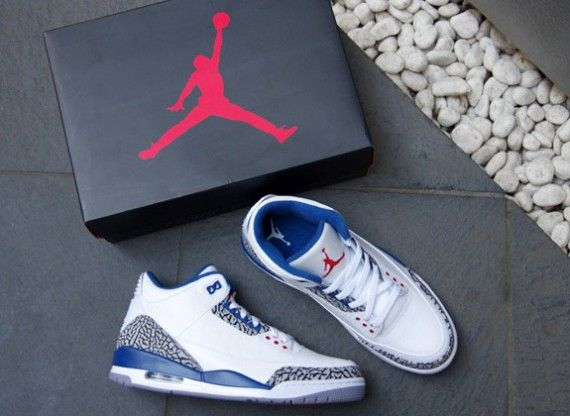 7f60390470f9 These have got to be my second favorite pair of J s Air Jordan III (3) True  Blue  jordan3