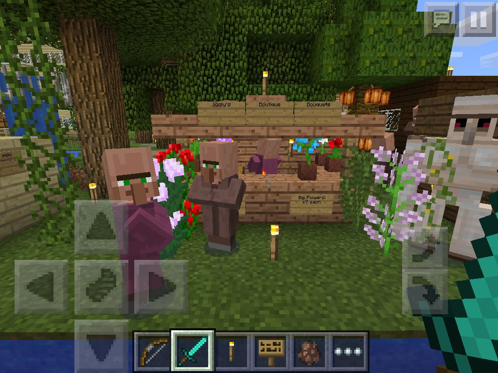 A very nice flower stand because villagers love flowers because villagers love flowers sciox Images