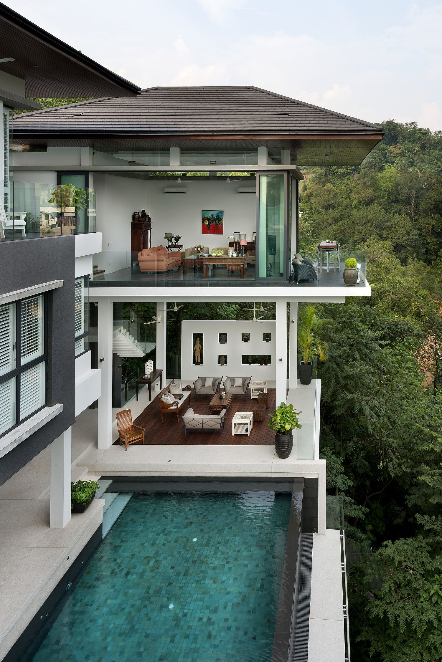 Spectacular home featured on crazy rich asians with for The design home