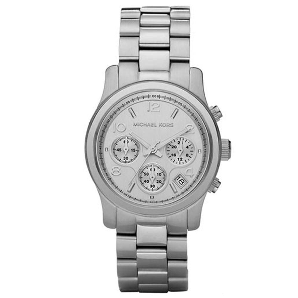 369607d4269e4 Michael Kors Women s MK5304 Runway Chronograph Stainless Steel Watch ...