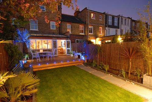 Mimosa Landscapes Ltd - Award Winning Gardens - Portfolio - Garden Lighting, Surrey, London