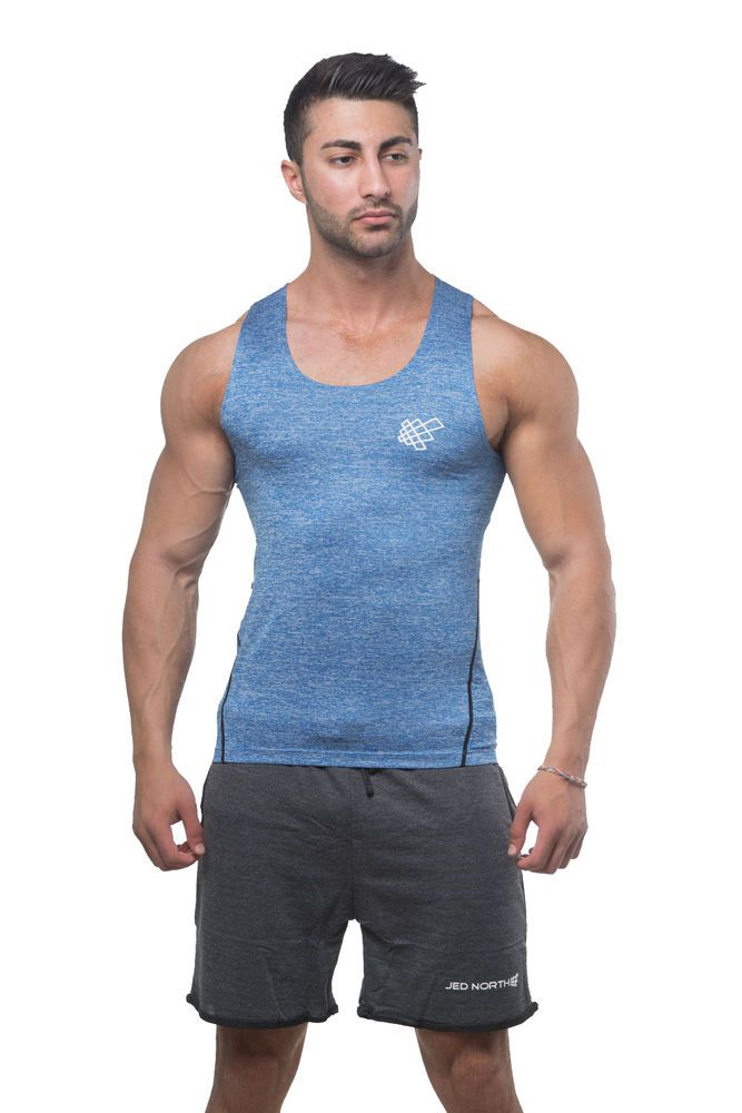 Men/'s Tank Athletic Compression Tops Gym Sports Vest Base Layer Fitness Run Tops