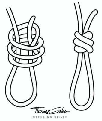 Bracelet loop knot . . . . ღTrish W ~ http://www.pinterest.com/trishw/ . . . . #handmade #jewelry #knotting More