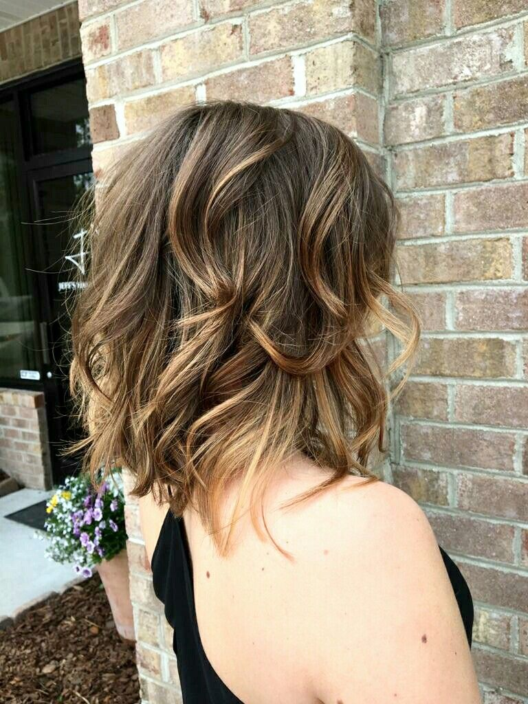 Sassy long bob tiger eye color hair by kristy boquin hair pinterest cabello peinados - Balayage oeil de tigre ...