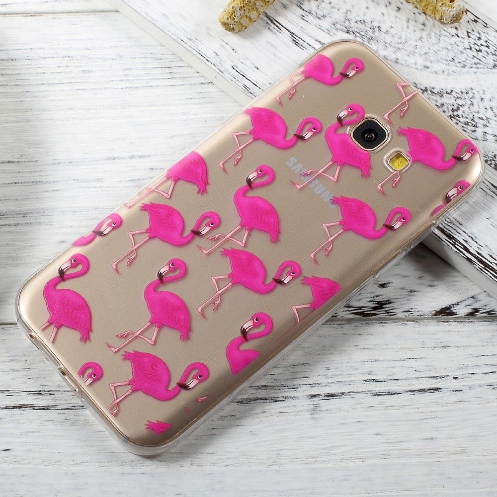 coque samsung a5 2017 flamant rose