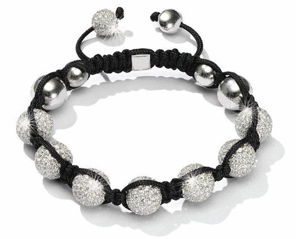 White Designer Crystal Balla Bracelet Fashion Bracelets