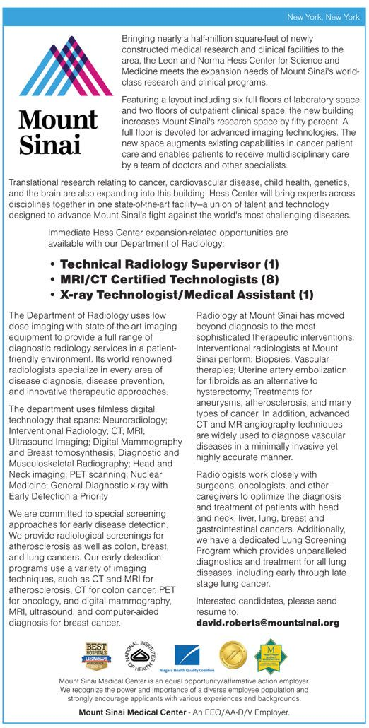 Technical Radiology Supervisor 1 Mri Ct Certified Technologists 8 X Ray Technologist Medical Assistant 1 Wanted Medical Assistant Medical Care Jobs