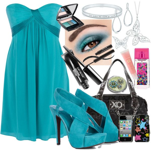 """""""Teal Goddess"""" by theheartsclubqueen on Polyvore"""