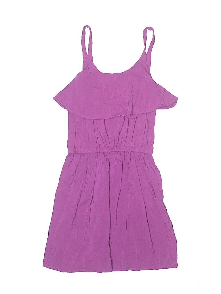 Sally Miller Dress - A-Line: Purple Solid Skirts & Dresses - Used - Size 7