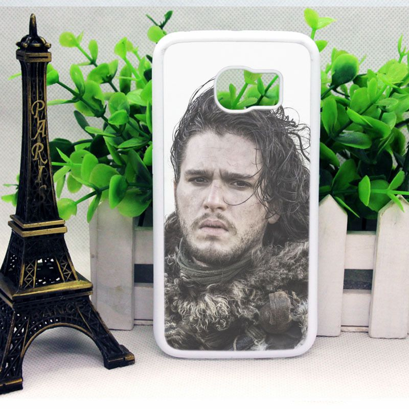 Jon Snow The Game of Thrones Cover | Samsung Galaxy S5 Case, Samsung S6 and S7 Edge Cases - Personalized Phone Cases by SCRYL