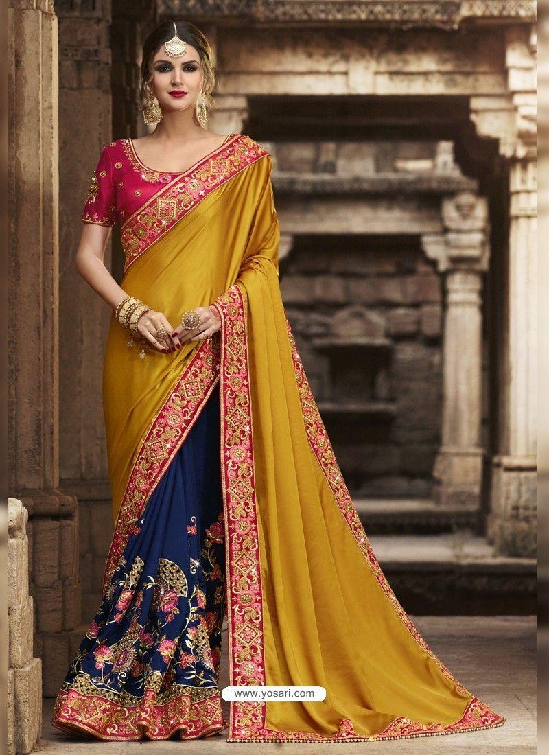 051707fc5783c Marvelous Multi Colour Silk Saree