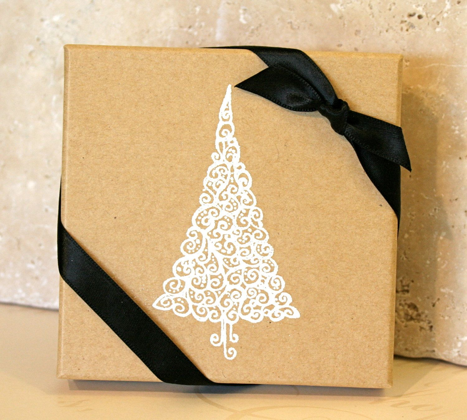 Holiday Gift Box Embossed Gift Boxes Paper Gift Box Jewelry Etsy In 2020 Holiday Gift Box Paper Gift Box Gifts