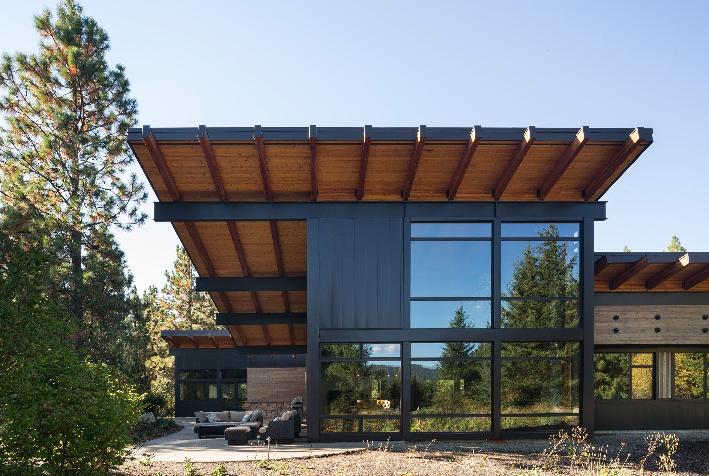 Discover Ideas About Roof Overhang Steel Beams