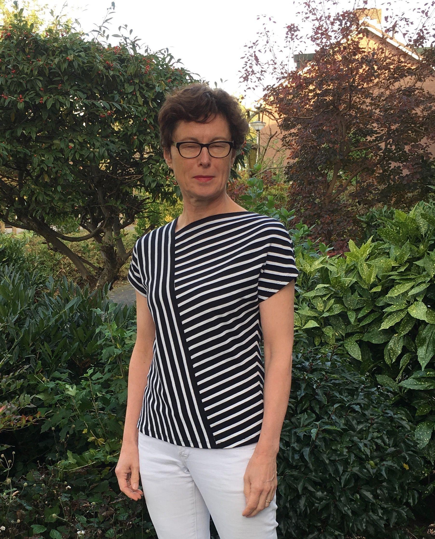LMV Odette T-shirt meets Veritas Hannelore Top | naaien | Pinterest
