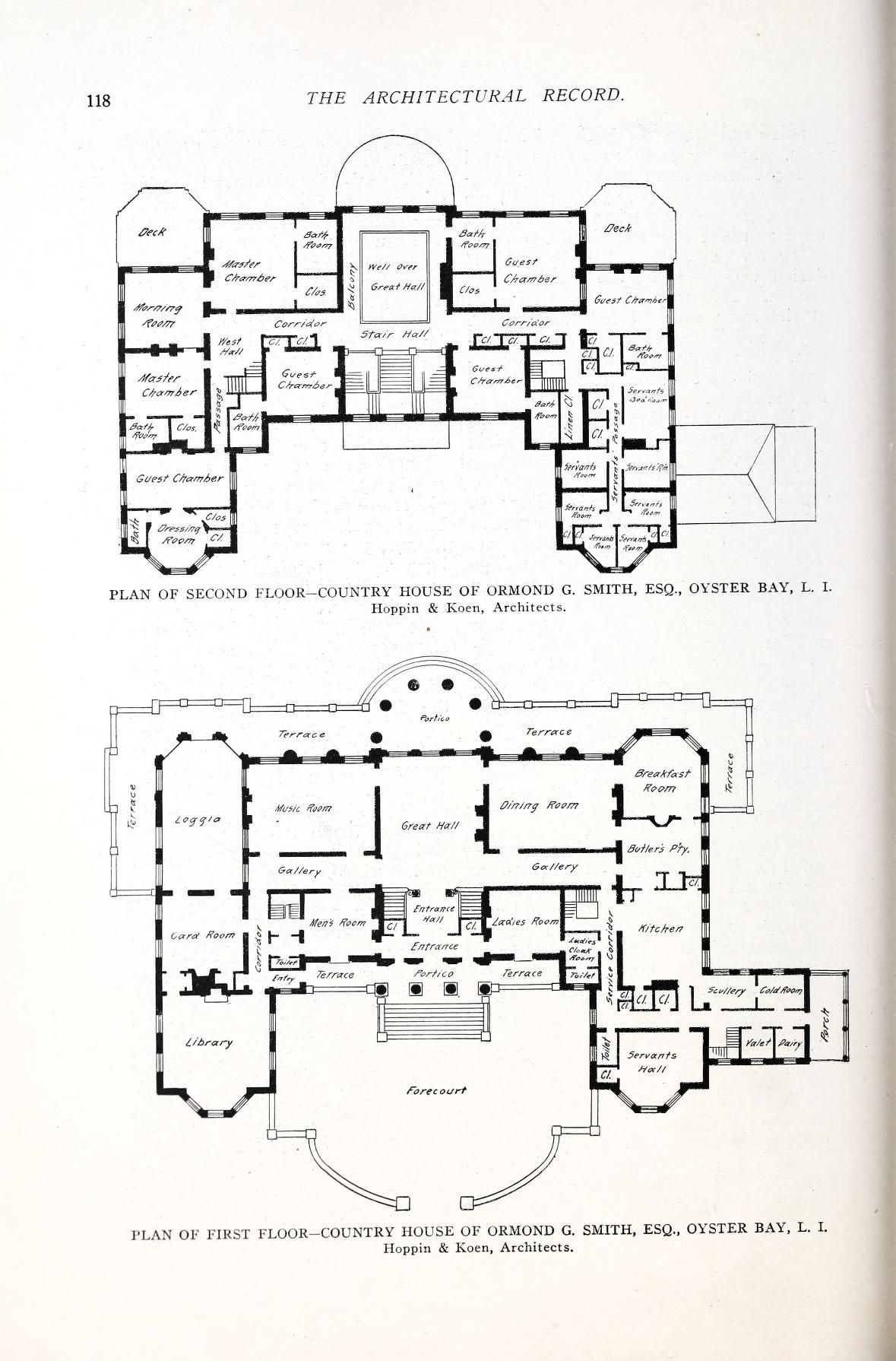 Architectural Record Free Download Borrow And Streaming Internet Archive In 2021 Architectural Floor Plans Hotel Floor Plan Vintage House Plans
