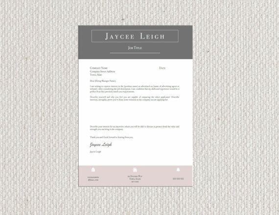 Simple Modern Resume Two Page And Cover Letter By Orbfishgraphics