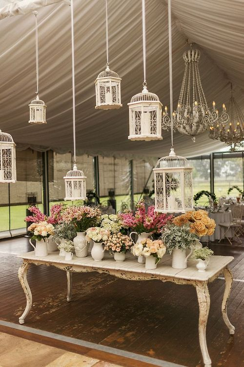 Shabby Chic Romantic Garden Wedding