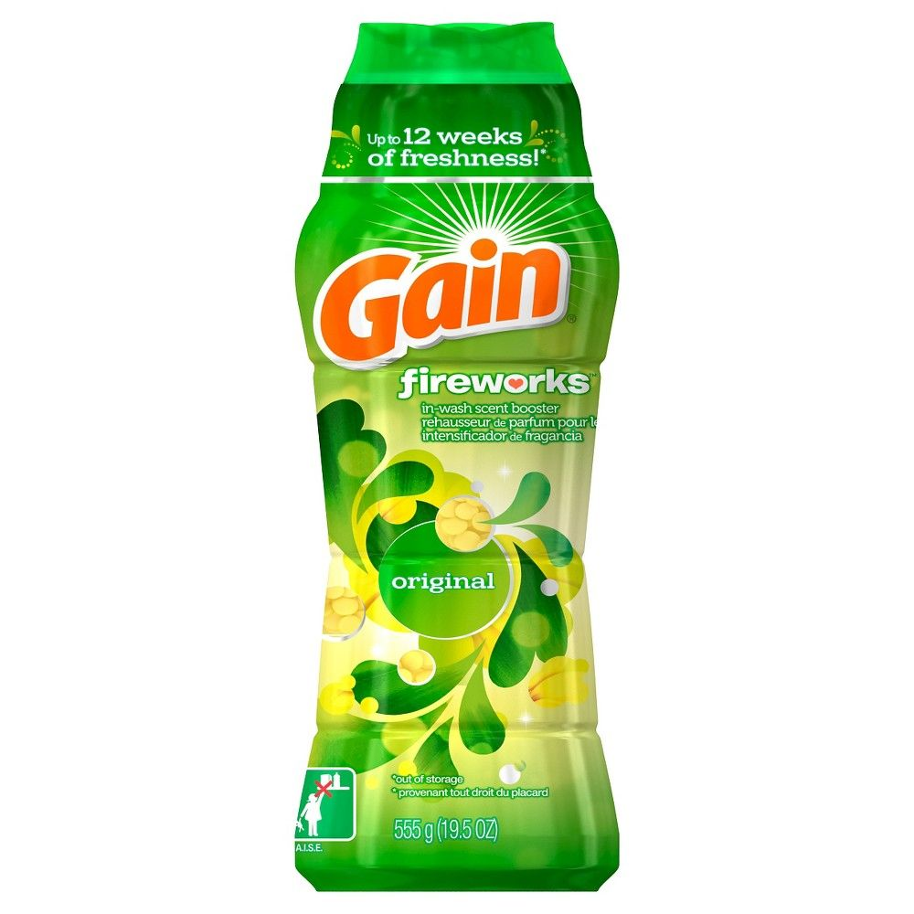 Gain Fireworks In Wash Original Scented Booster Beads 14 8oz