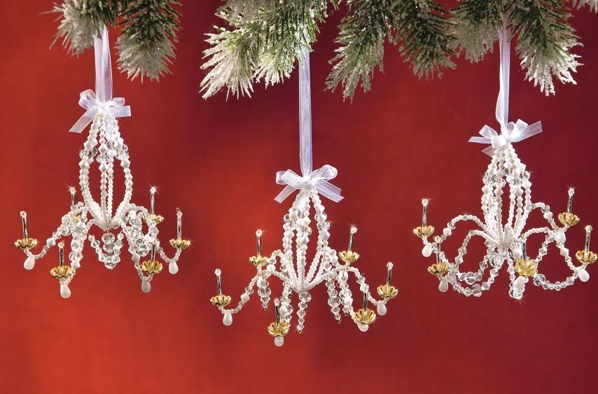 Kronleuchter Mit Glasperlen ~ Kronleuchter aus perlen und drahtsternen kostenlose anleitung