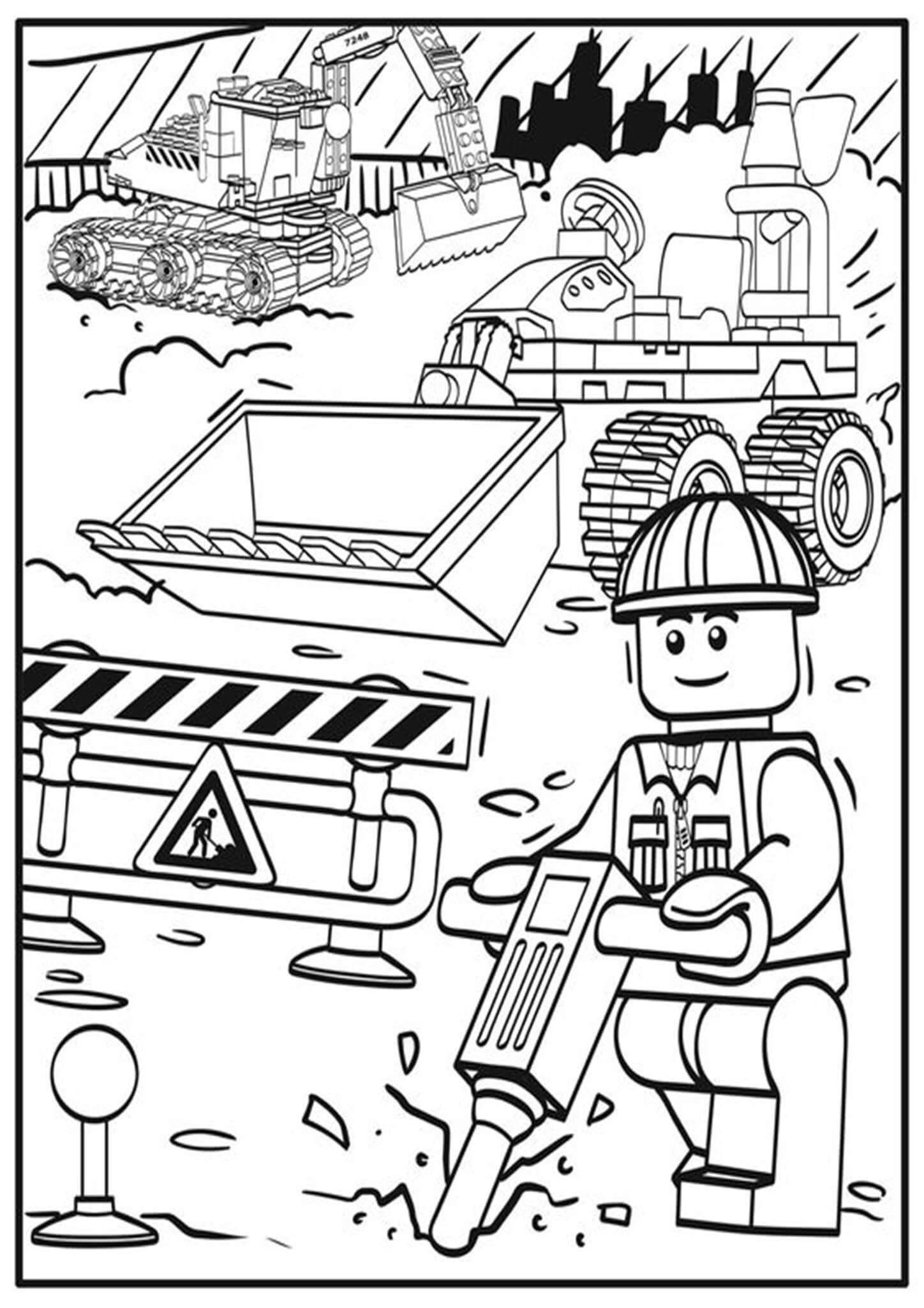 Free Easy To Print Lego Coloring Pages Lego Coloring Pages Lego Coloring Lego Movie Coloring Pages