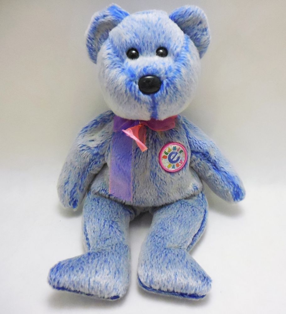 41559716624 Ty 2000 e-Beanie Babies Periwinkle
