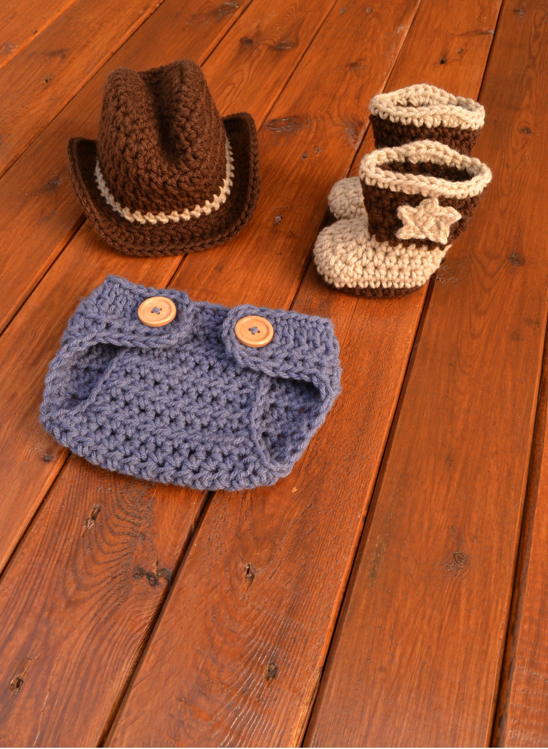 1be52252 Newborn Cowboy Outfit Cowboy Hat and Boots Set Knit Cowboy Hat Crochet Cowboy  Hat and Boots Baby Cowboy Outfit Photo Prop Cowboy Photo Prop