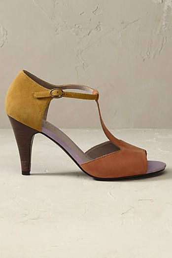 Sienna Heels with T-Bar