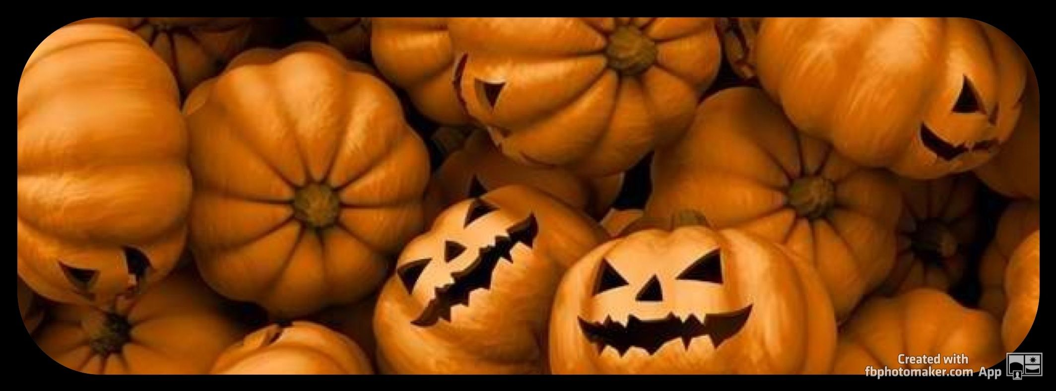 pumpkins, halloween, simple facebook timeline cover photo | facebook