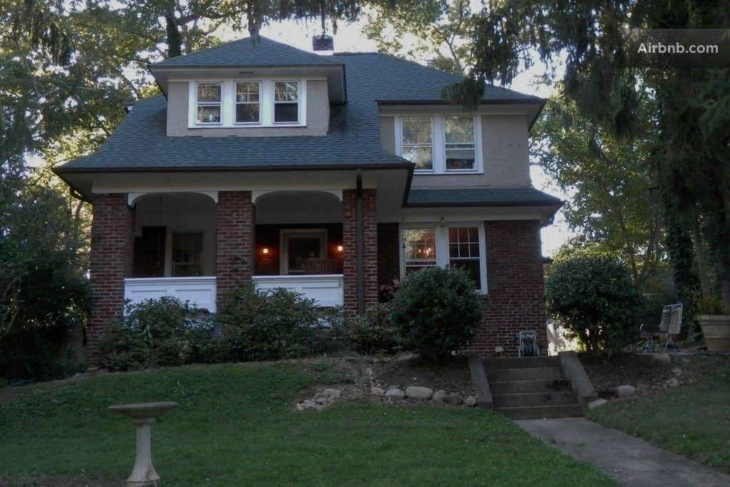 Asheville Historic Oak Cottage in Asheville